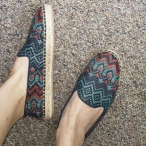 NWOT Dolce Vita Espadrille Woven Flats